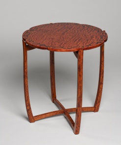 Lotus Table with Marquetry