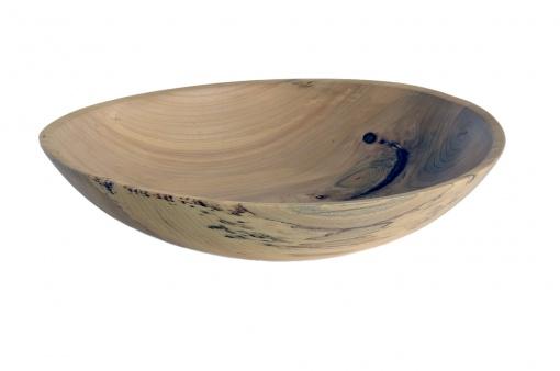 american elm wood turned bowl scott ruesswick