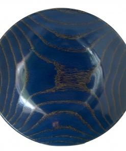red oak wood turned bowl
