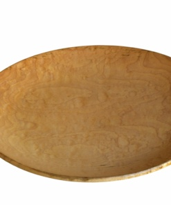 sugar maple wood turned bowl