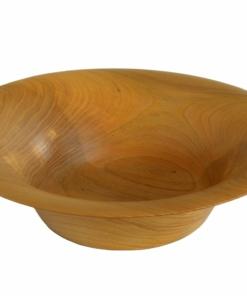 american elm wood turned bowl