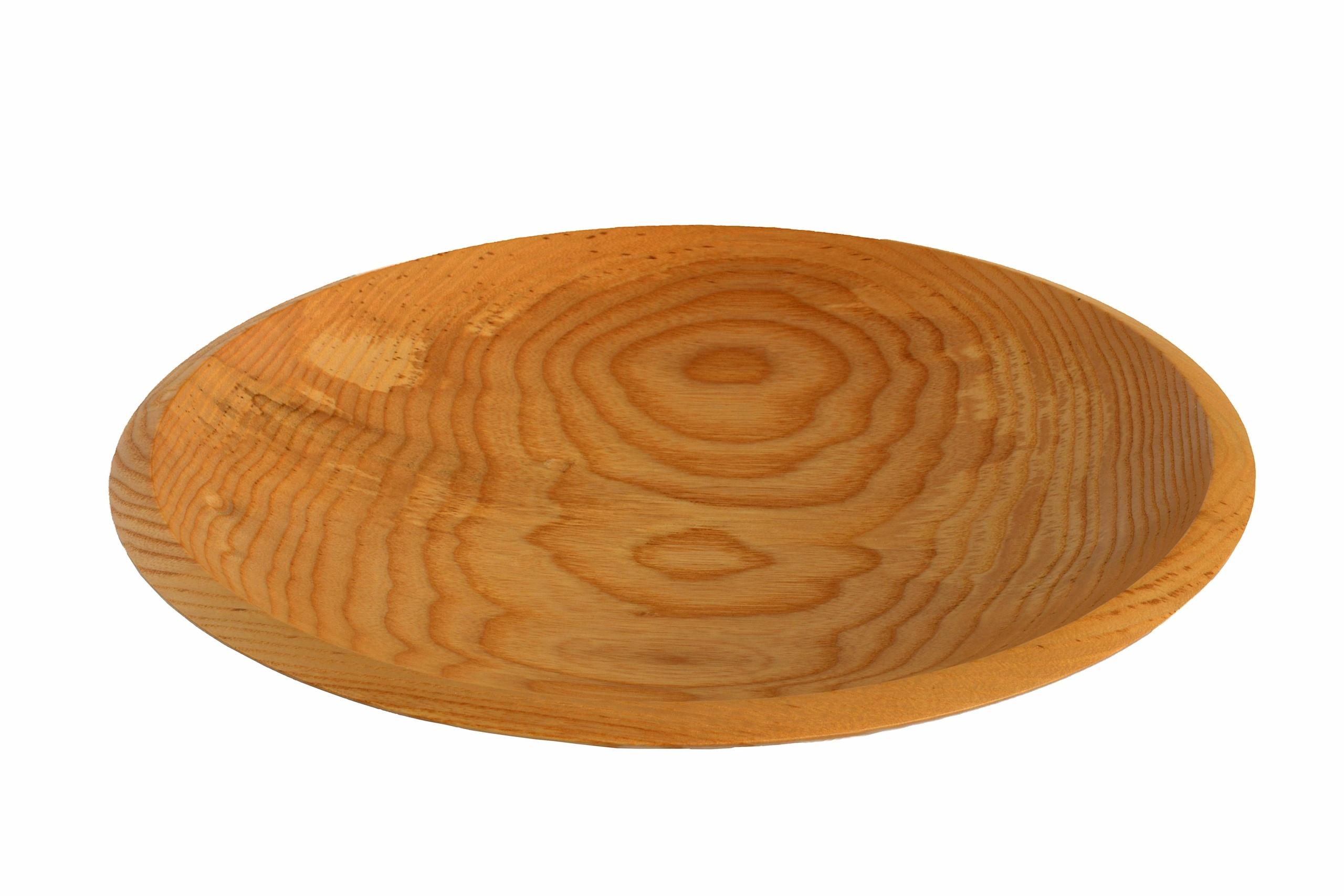 ash wood turned bowl