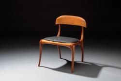 A custom, handmade chair created by Thomas Walsh.
