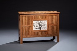 handmade custom sideboard by furniture master Duncan Gowdy