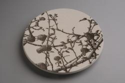 handmade custom platter by furniture master Duncan Gowdy