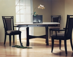 handmade custom dining room furniture by furniture master Fred Puksta