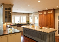handmade custom kitchen by furniture master Fred Puksta