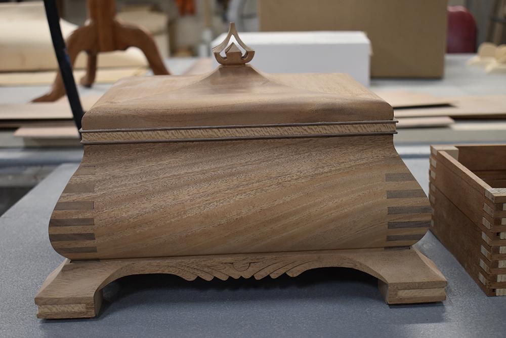 handmade jewelery box nh furniture masters