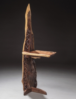 handmade custom totem by furniture master Jeffrey Cooper