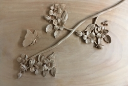 pomme carving Jeffrey Roberts handmade custom