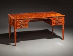 Sheraton desk Jeffrey Roberts handmade custom furniture master