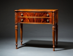 Sheraton dressing table Jeffrey Roberts handmade custom furniture master