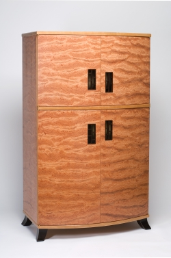 custom handmade armoire by furniture master Michael Gloor