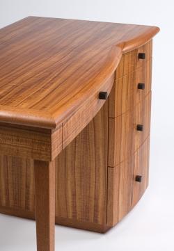 custom handmade desk by furniture master Michael Gloor
