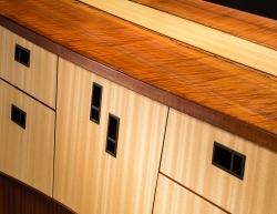 custom handmade sideboard by furniture master Michael Gloor