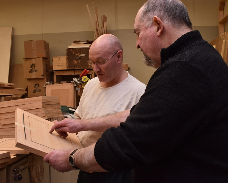 Teaching the participants of the NH Men's Prison Outreach Program