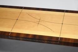custom handmade coffee table by furniture master owain harris