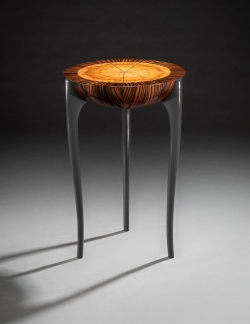 custom handmade side table occasional table by furniture master owain harris