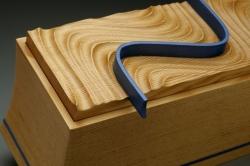 custom handmade tea box by furniture master owain harris