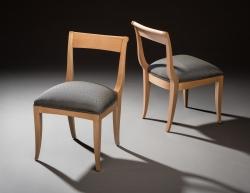 custom handmade chairs by furniture master richard oedel