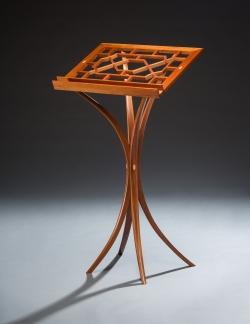 custom handmade stand by furniture master richard oedel