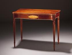 custom handmade table by furniture master richard oedel