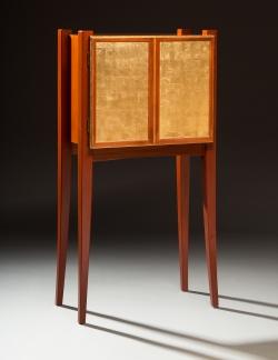 custom handmade jewel cabinet by furniture master richard oedel