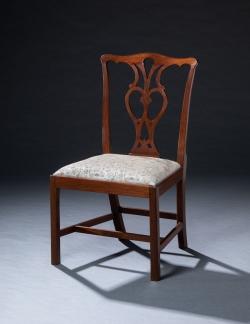 custom handmade chair by furniture master roger myers