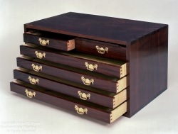 custom handmade chest by furniture master roger myers
