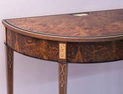 custom handmade table by furniture master roger myers