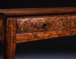 custom handmade table by furniture master ted blachly