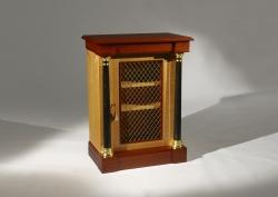 A custom handmade cabinet created by Thomas Walsh
