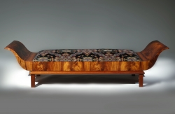 A custom handmade daybed created by Thomas Walsh