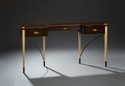 A custom handmade deco table created by Thomas Walsh