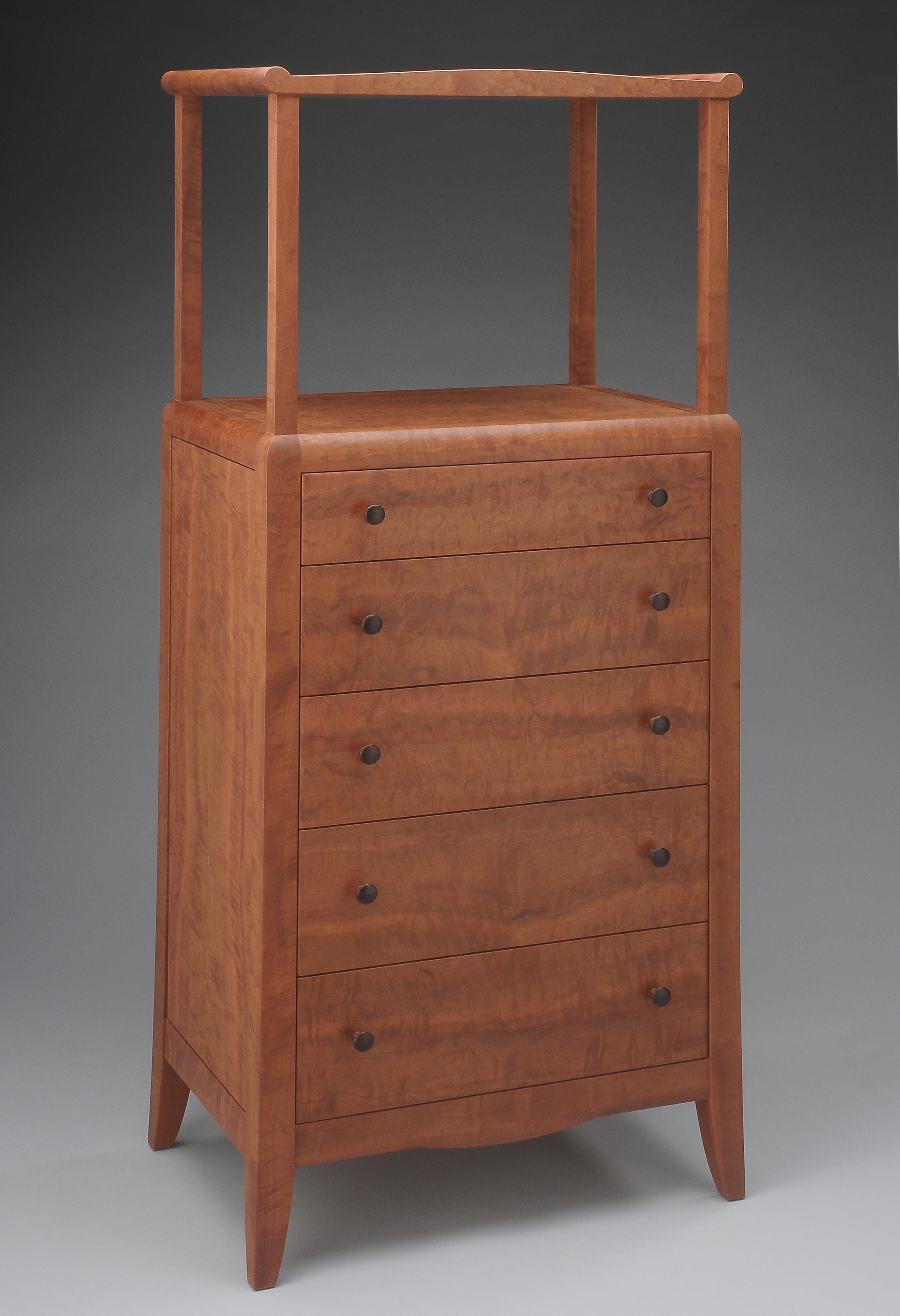 custom handmade chest drawers by furniture master tim coleman