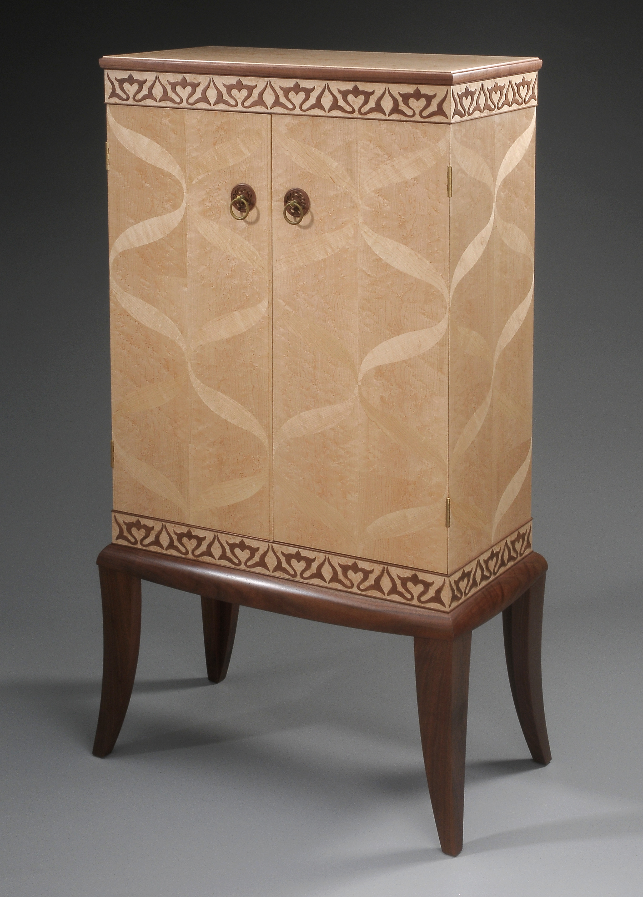 custom handmade cabinet by furniture master tim coleman