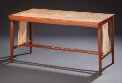 custom handmade desk by furniture master tim coleman
