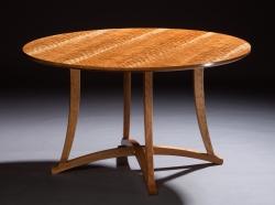 custom handmade table by furniture master tim coleman
