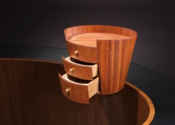 custom handmade desk by furniture master william thomas